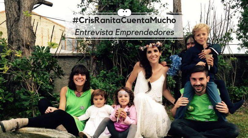 #CrisRanitaCuentaMuchoEntrevista Emprendedores