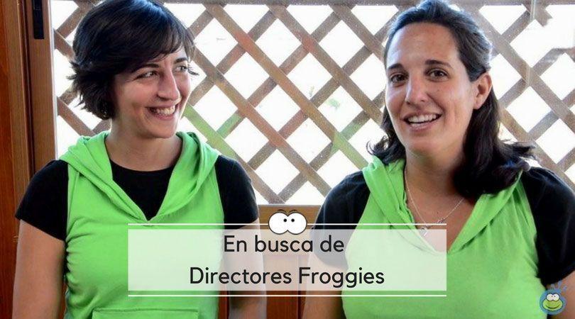 Buscamos a nuevos directores Froggies para diferentes ciudades