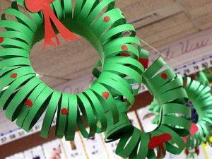 guirnalda-manualidad-navideña