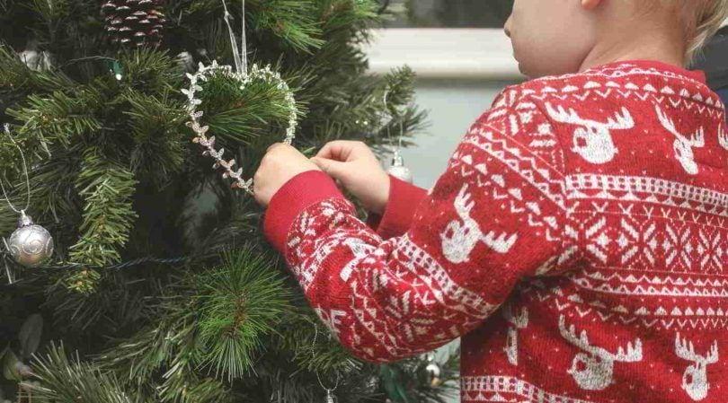 manualidad navidad