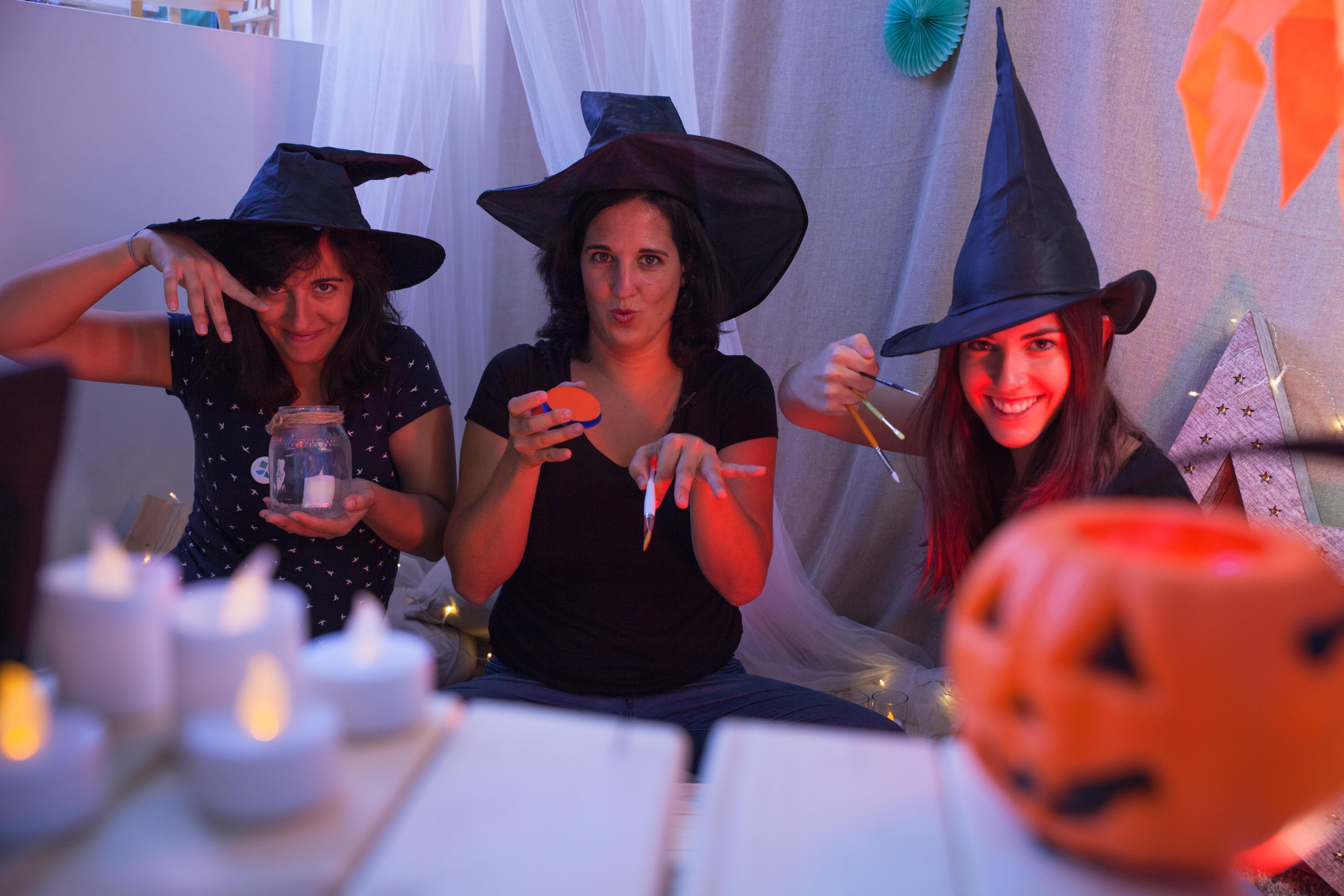 Manualidad niños Halloween